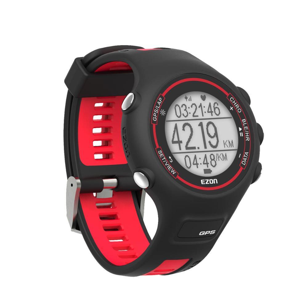 Montre de course GPS numérique pour homme montre de Sport pour femme Bluetooth fréquence cardiaque au poignet vitesse Distance rythme Calories