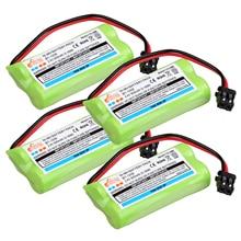 BT-1008 беспроводной телефон Батарея аккумуляторная Металл-гидридных или никель клапанным fo BT-1016 BT-1021 BT-1025 BT1021 BT1025 CPH-515B