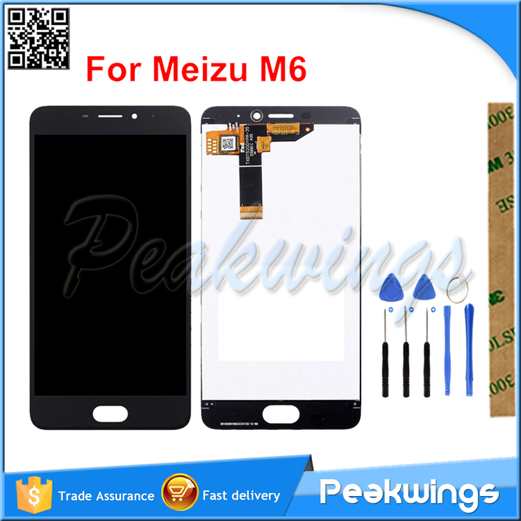 100% Tested <font><b>LCD</b></font> Screen For <font><b>Meizu</b></font> <font><b>M6</b></font> <font><b>LCD</b></font> For <font><b>Meizu</b></font> M6S <font><b>LCD</b></font> For <font><b>Meizu</b></font> M6T <font><b>LCD</b></font> Display With Touch Screen Assembly image