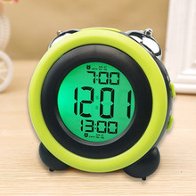 Color Screen Alarm Clock ABS Device Tool Electronic Mechanical Digital(China)
