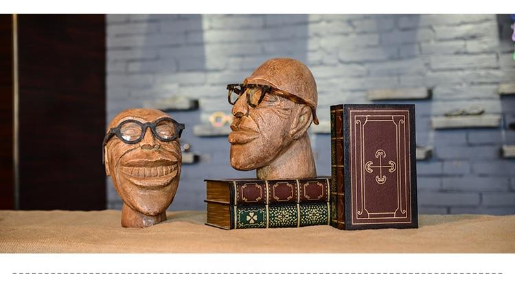 Mode Stil Neue Lustige kopf modell gläser display Mannequin Kopf Dummy Heißer Verkauf