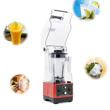 Commercial 1.5L Bpa Free Ice Blender Heavy Duty Automatic Fruit Juicer Food Processor Ice Crusher Smoothies