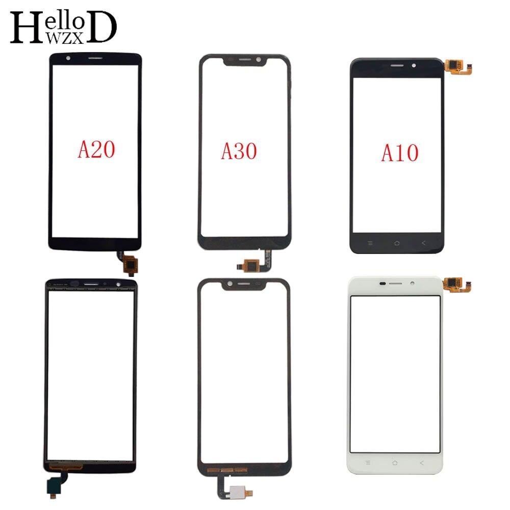 Panneau décran tactile Mobile pour BlackView A10 A20/A20 Pro A30 écran tactile panneau numériseur capteur de verre avant 3M lingettes de colle