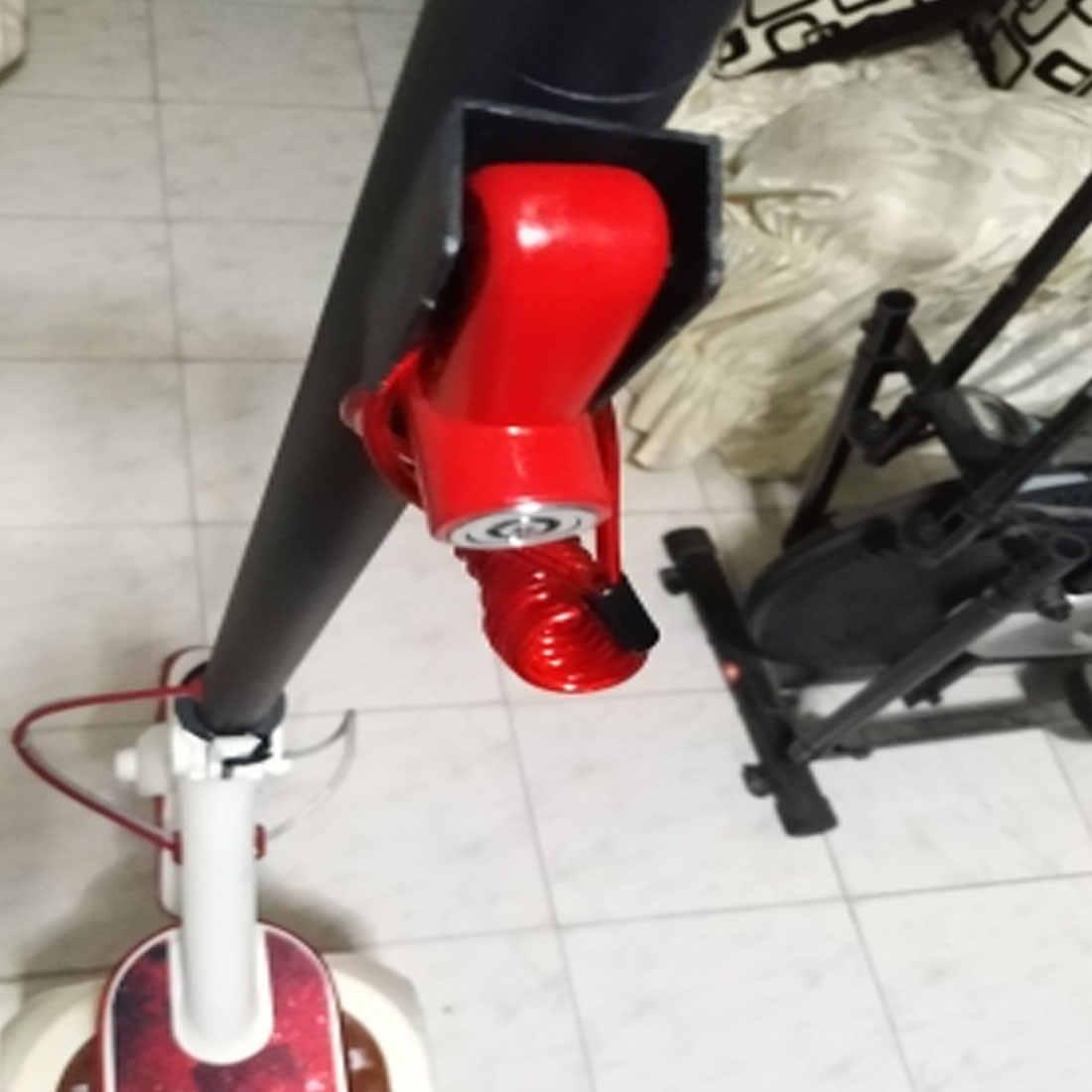1 zestaw zamek do hamulca tarczowego Anti-theft rower elektryczny skuter hamulec tarczowy koła zablokować dla Xiaomi Mijia M36