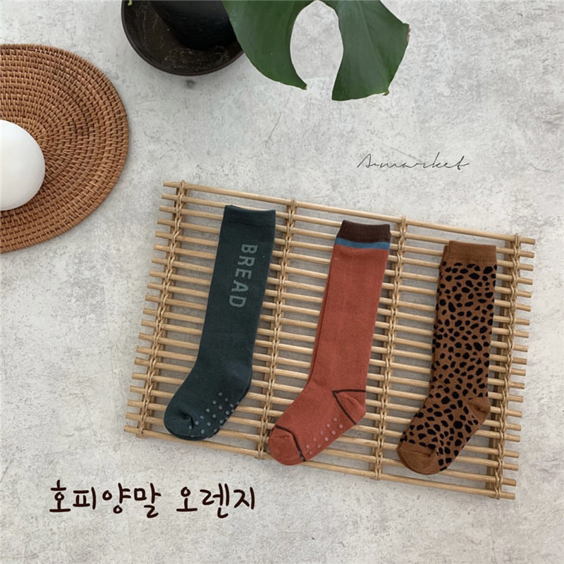 Big Kids Tube Socks Children Korean Leopard Tube Socks Very Fashion Boys Girls Tube Socks Adult Knit Cottom Long Tube Socks