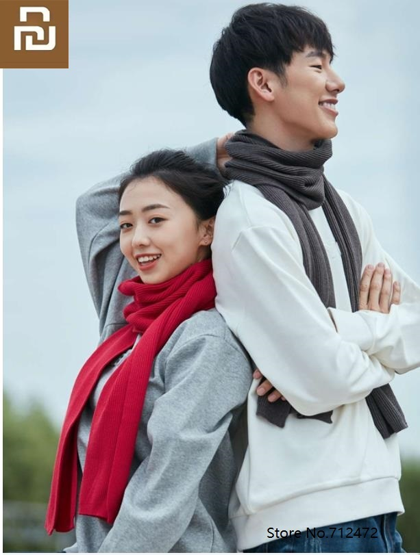 Youpin Life Wild Knit Scarf Men And Women Fashion Scarf Winter Knit Soft Comfort Thick Lovers Wild Shawl