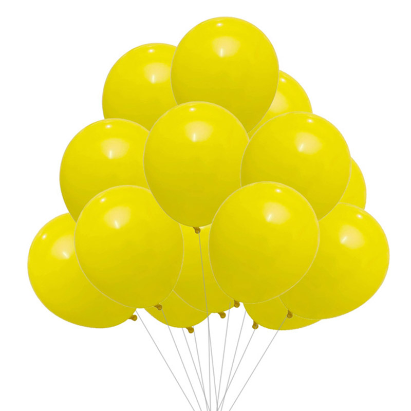 20pcs Gold Black Latex Balloons For Birthday Party Decorations And Baby Shower 16