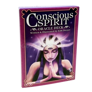 Conscious Spirits Oracle Deck 45 Cards Deck Tarot Family Party Board Game Astrology Divination Fate Cards Drop Shipping