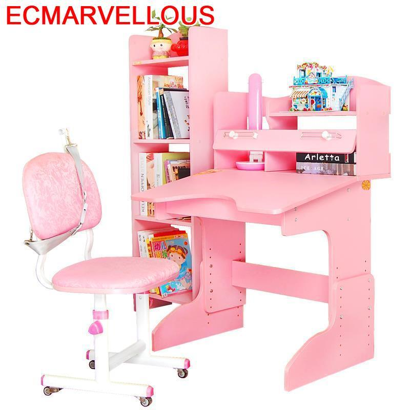 Infantiles Tisch Meja Belajar Furniture Infantil Children Tablo Tableau Wooden Escritorio Enfant Desk Mesa Kids Study Table