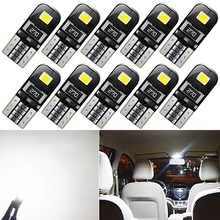 10x T10 Led Canbus W5W Auto-interieur Verlichting Lampen Voor Ford Mondeo MK3 MK4 Mustang Transit Ka Ecosport MK2 Galaxy st Sierra