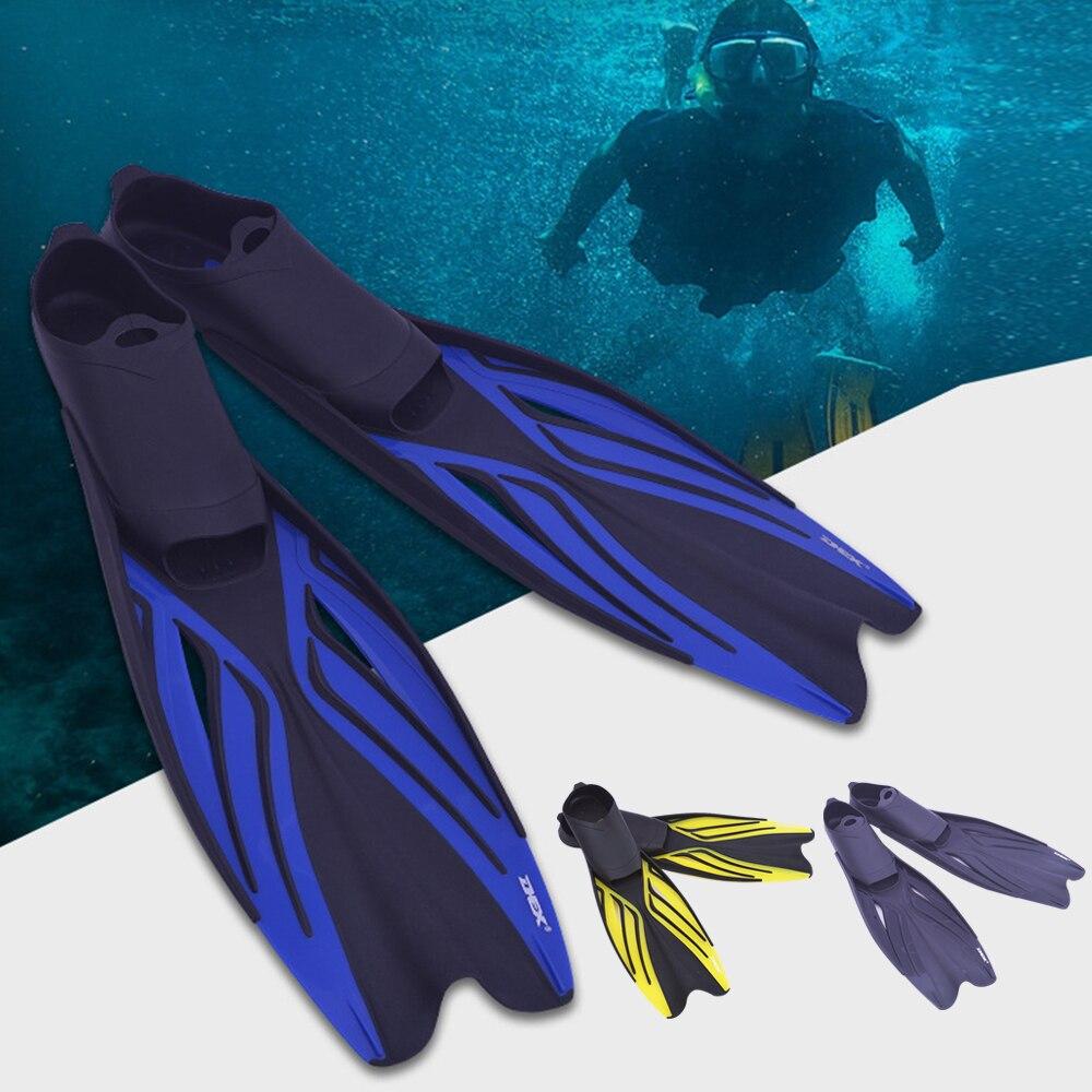 Swimming Fins Adult Snorkeling Foot Flippers KIDS Diving Fins Beginner Swimming Equipment Portable Adult & Kids Diving Flippers(China)