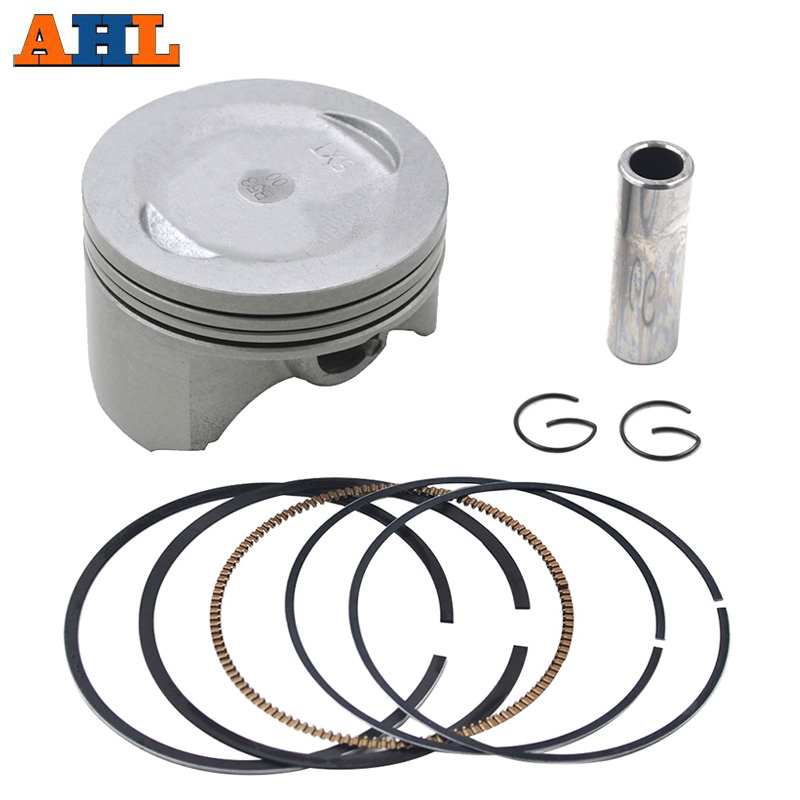 AHL Motorcycle STD ~ +150 Bore Size <font><b>74mm</b></font> ~ 75.5mm <font><b>Piston</b></font> Kit & <font><b>Rings</b></font> For YAMAHA XG250 XG 250 Tricker 250 2004-2007 5XT-11631-00 image