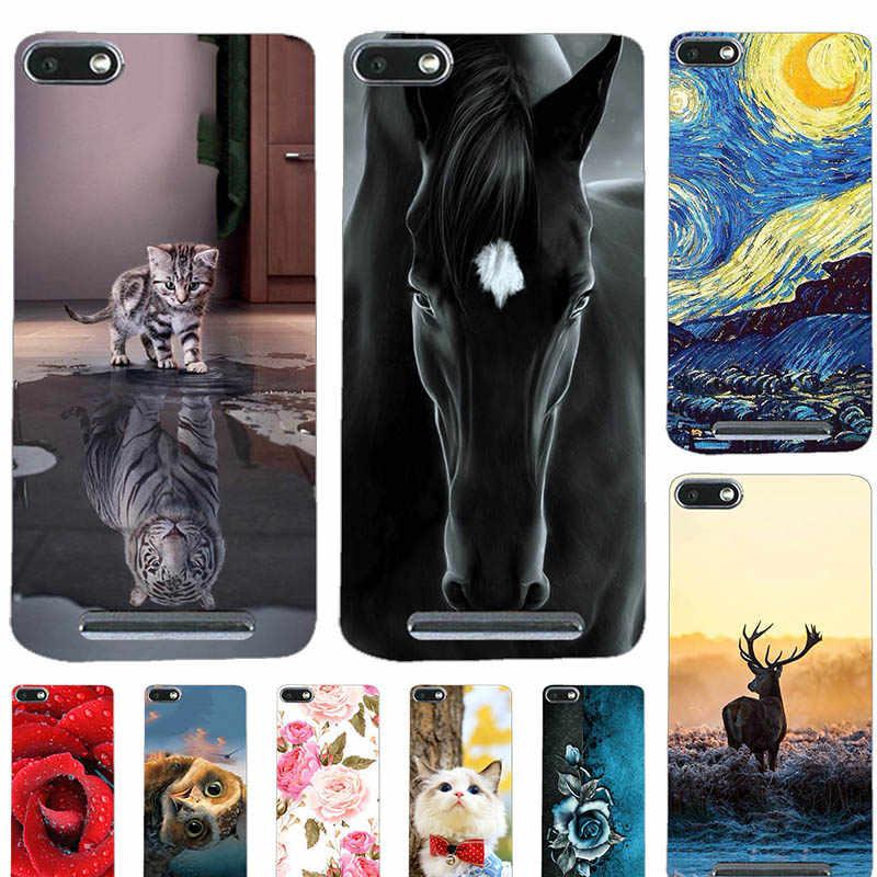 Cute Animal Cat Printing Case For Wiko Lenny 3 Lenny3 Wiko K-Kool Wiko Jerry 5.0