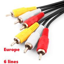 Europa cline 6 linhas para o receptor de satélite DVB-S2 freesat v8 nova 6 lineas cline