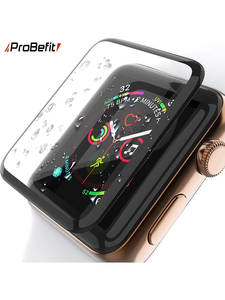 Screen-Protector-Film Tempered-Glass Watch-Series Curved-Edge Apple 1-38mm 3D HD