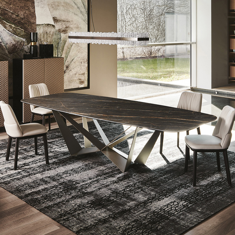 Dining Table Set Long Dinning
