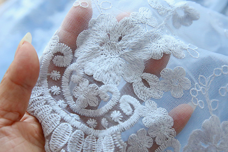 Winter Autumn Girl Lace Embroidery Long Sleeve Dress Children Wedding Birthday Party Vestidos Kids Holiday Casual Wear Clothing 5