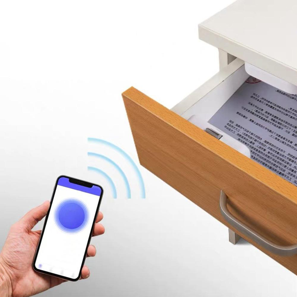 Home Letter Box Office Drawer Lock Wireless App Remote Cabinet Safety Electronic Intelligent Wardrobe Invisible Smart Bluetooth