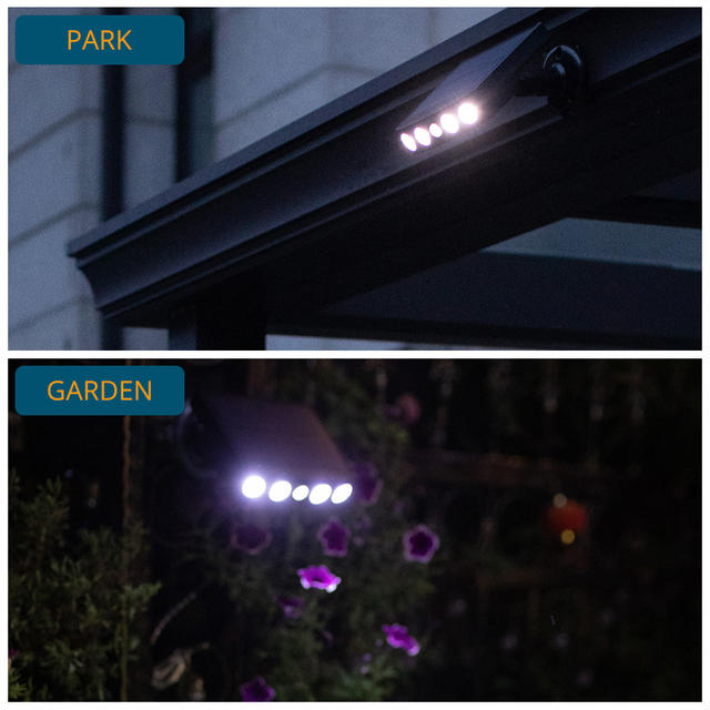 Powerful Solar Light Outdoor Motion Sensor Waterproof Garden LED Solar Lamp