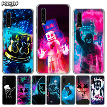 DJ Marshmello Silicone Phone Back Case For Huawei P30 P20 Mate 20 10 Nova 5 5i P