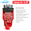 Новый V1.87 Renolink V1.87 для Renault ECU Программатор OBD2 диагностическое обновление для RenoLink V1.52 многофункциональное добавление к V1.87