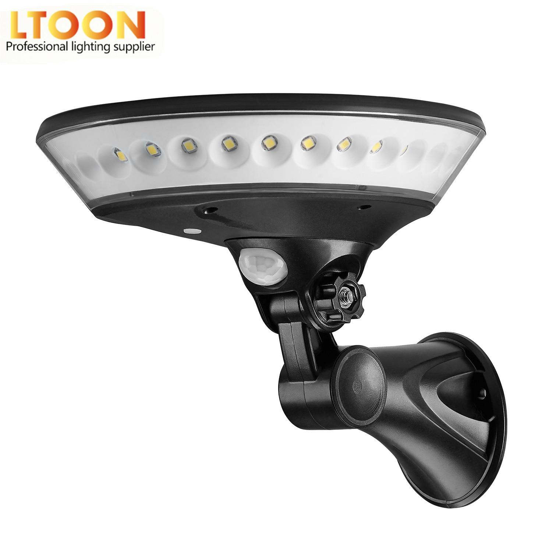 360 Degree Lighting Outdoor Solar Light PIR Motion Sensor Solar Garden Light Energy Saving Street Lamp Wall Lamp Three Modes