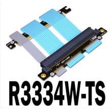 Pcie-4.0 16x-To-16x-Adapter Chassis ITX Adt-Link Case Graphics-Card-Extension Double-Reverse