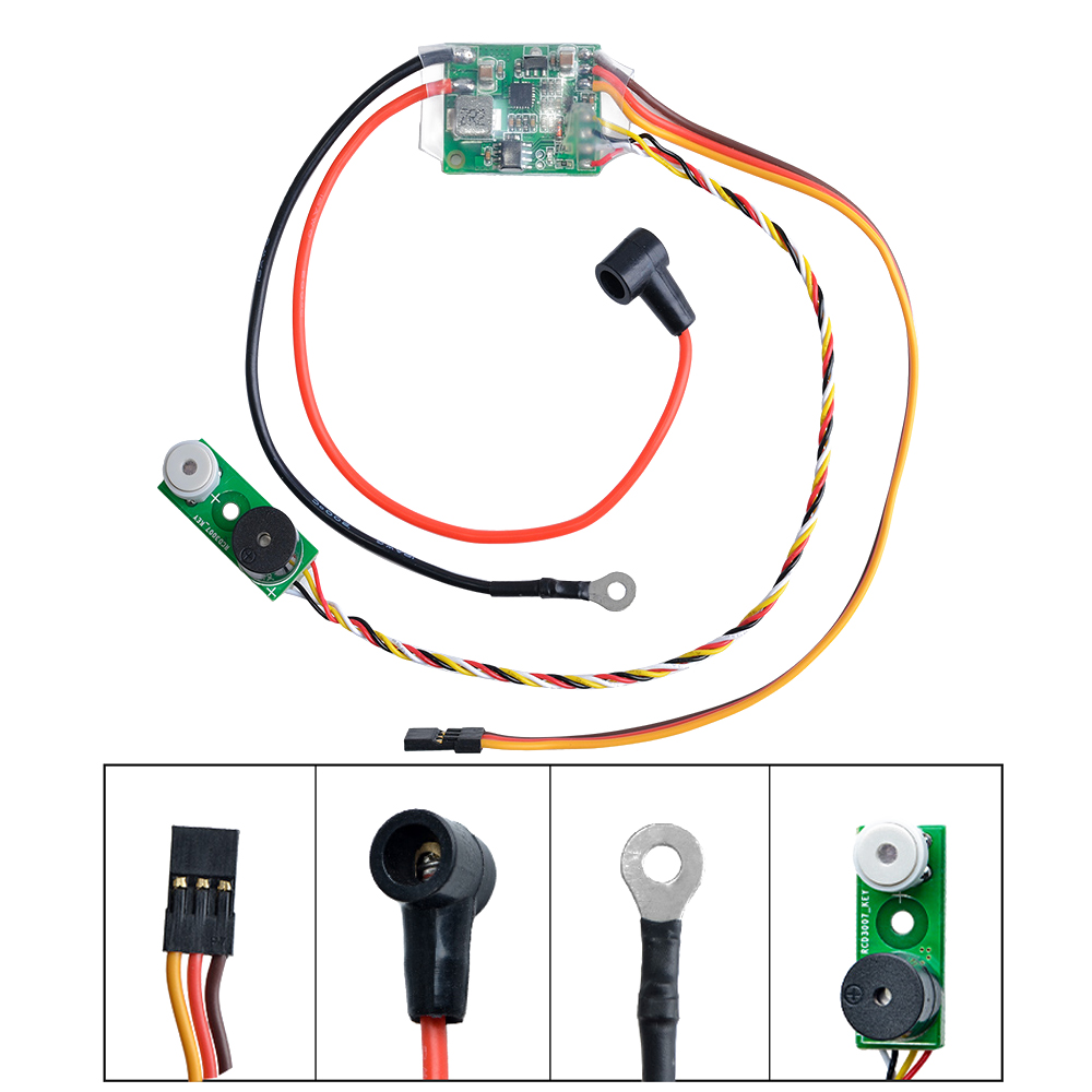 RC Model Parts Methanol Engine Ignition RCD3007 Remote Heat Head Driver Glow Plug Driver for RC Helicopter Airplane Car Boat image