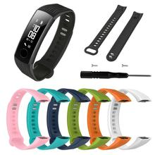 Fashion TPU Silicone Bracelet Strap Sports Replacement Wrist Band For Huawei Honor 3 Smart Watch Wearable Devices Accessories cheap centechia Wrist Strap Adult Other Watch Band 22 5X2Cm 8 85 x 0 78 (Approx ) as the picture shows 1 Pc Solid Color Durable Soft Durable Easy to Use