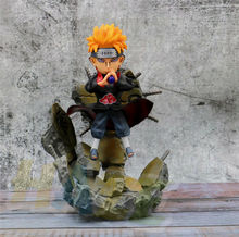 Anime Naruto Figure Statue Akatsuki Pain Pein Action Figure Toy Model Collection Anime Figure Doll 25cm In Box boruto naruto next generations gem naruto uzumaki seventh hokage ver pvc anime action figure collectible model toy