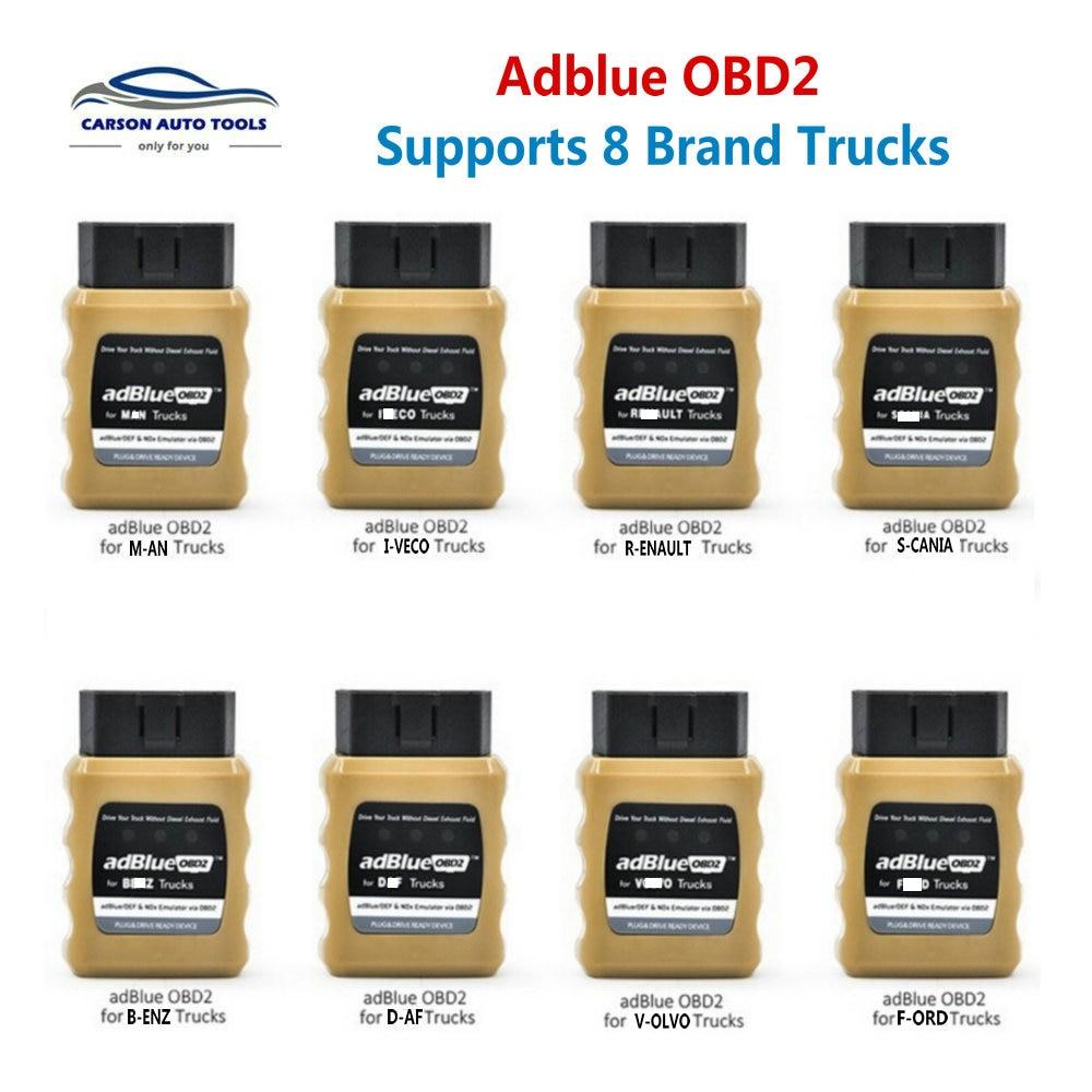 Diagnostic-Tool Truck Adblueobd2 Simulator Nox for And Via