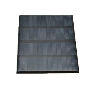 Image 4 - 12V 1.5W Mini panneau solaire Standard époxy polycristallin silicium bricolage batterie Module de Charge de cellule solaire panneau de Charge