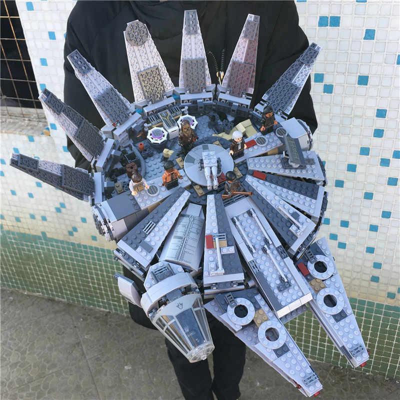 1381pcs Starwars Astronave Compatibile 75105 79211 05007 10467 Figures Building Blocks Giocattoli X-wing Fighter Regali