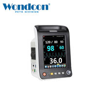 Wondcon monitor de paciente veterinário wmv650a monitor de paciente animal veterinário para cão & gato animal de estimação(China)