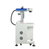 Desktop TypeLaser Engraving Machine 20w 30w 50w Fiber Laser Marking Machine for metal bar code