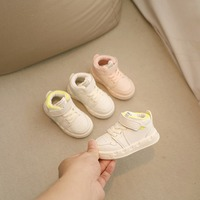 Spring and Autumn Baby Shoes 1 4 Years Old Boys High Upper Board First Walkers Girls Soft soled First Walkers Kids First Walkers