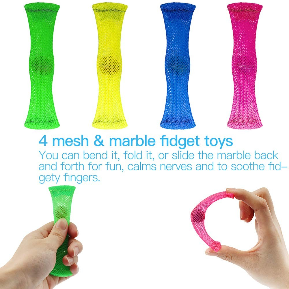 Fidget-Toys Gift-Pack Anti-Stress-Set Pop-It Squishy Relief Stretchy-Strings Sensory img5