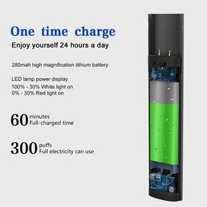 Image 5 - Электронная сигарета со светодиодным индикатором мощности, 0,8 мл, w01 wo1 pod