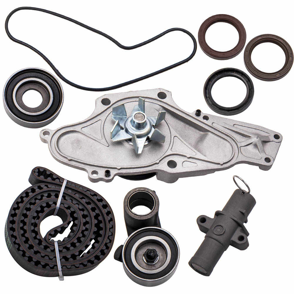 Tamkyo Engine Timing Belt Kit /& Water Pump Fit for//Accord Odyssey V6 19200-RDV-J01 14400-RCA-A01