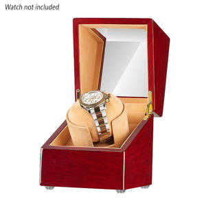 Storage-Box Watch-Winder Automatic Wooden with Quiet Motor-Repair Universal Home Portable