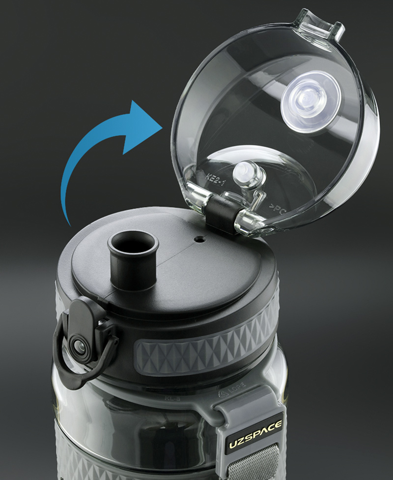 BPA Free Sport Portable Gym Anti-Fall Leak-proof Drink Water Bottle