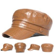 Женские кепки газетчика женская зимняя плоская кепка козырек