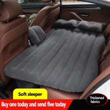 Car Inflatable Bed Mattress Back Travel Mid-Rear Seat SUV Sleeping Air Universal
