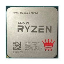 CPU Processor R5 1500x3.5-Ghz Amd Ryzen Quad-Core AM4 65W Yd150xbbm4gae-Socket L3--16m