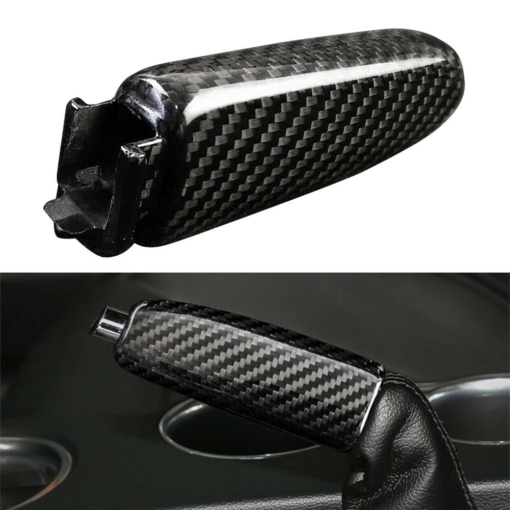 Чехол ручного тормоза автомобиля из углеродного волокна ручка протектор Замена для Ford Mustang 2015 2016 2017 2018 2019