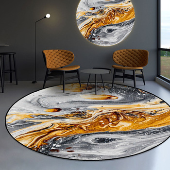 23 rodzaje wzór nowoczesny okrągły dywan dywaniki dla domu salon sypialnia nocna krzesło dzieci zagraj Pad