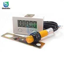 Compteur d'affichage numérique LCD à Induction magnétique 0 – 99999, interrupteur à capteur de proximité magnétique industriel, compteurs rotatifs rotatifs