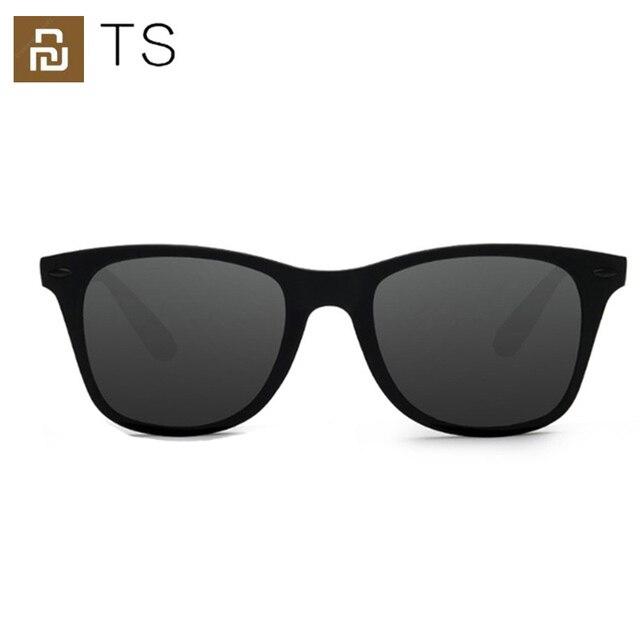 2020 Youpin TS Fashion Human Traveler Sunglasses STR004 0120 TAC Polarized Lens UV Protection for Driving/Travel Men Women