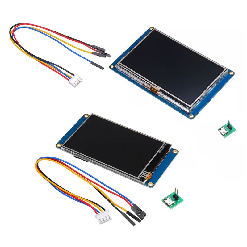 3.5/4.3″ Nextion HMI TFT Touch Screen English Version LCD Display USART UART Serial Interface Module for Raspberry Pi 3