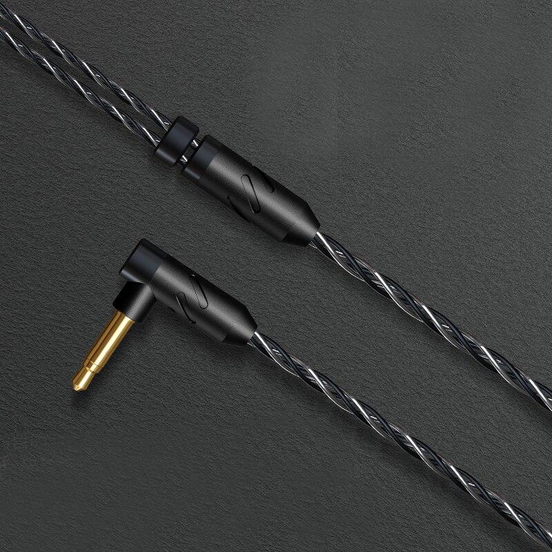 BGVP DX5 tête plate Plug Earburd métal écouteur stéréo musique Mmcx écouteur haute qualité bricolage casque - 6